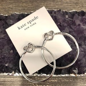 BNWT KATE SPADE HOOP EARRINGS